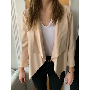 Tan Faux Leather Zara Jacket